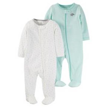 Baby 2 Pack Sleep N' Play Set Cool Mint - Just One You™Made by Carter's® : Target