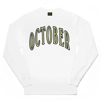 OCTOBER ARCH LONG SLEEVE T-SHIRT | October's Very Own