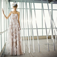 Beatrice wedding gown by Mira and Lihi Zwillinger
