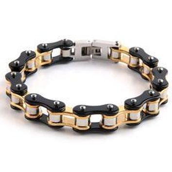 Dakata Stainless Bike Chain Bracelet