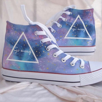 Galaxy Converse shoes Custom Converse Galaxy Converse Sneakers H a78361839
