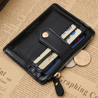 Excellent Quality GUBINTU Slim Credit Card Holder Mini Wallet Mens Leather ID Case Purse Bag Pouch New cover for a passport