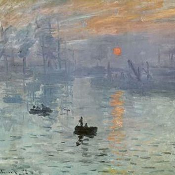 Impression Sunrise by Claude Monet Fine Art Print