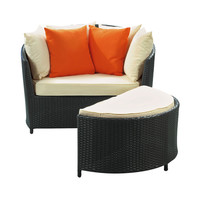 Full Circle Lounge Chair Set