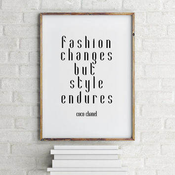 "inspirational words""coco chanel""inspirational art,gift ideas,home decor,fashion art,coco fashion,shabby chic,chic print,fashion print"