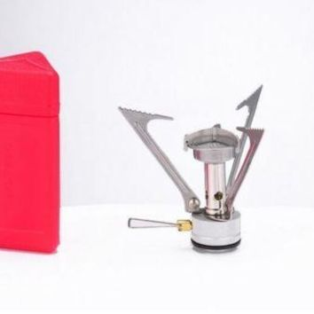 Outdoor Super Light Burner Camping Picnic Unibody Gas Furnace  Picnic Stove