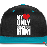 My Heart only beats for him Snapback