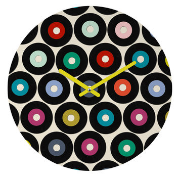 Sharon Turner vinyl Round Clock