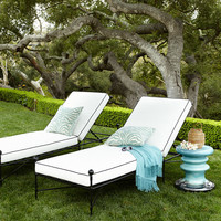 Avery Neoclassical Chaise - Neiman Marcus