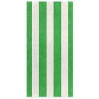 Stripes of Capri Beach Towel - Green