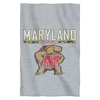 Maryland Collegiate Sweatshirt Throw