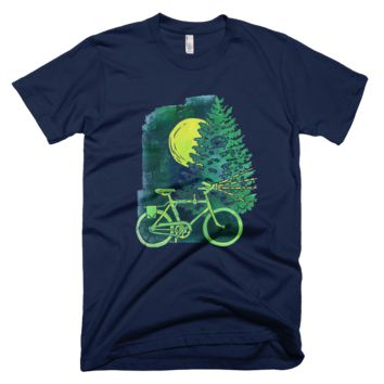 """Night Riding"" T-Shirt by Carla Bartow"
