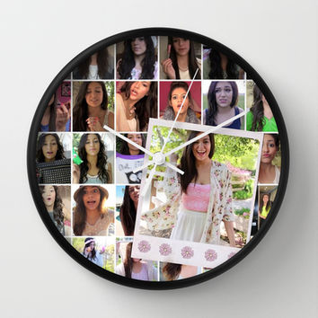 Bethany Mota Wall Clock by hayimfabulous