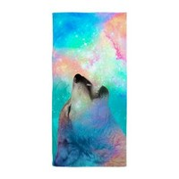 Galactic Wolf Howl Beach Towel> Beach / Pool / Bath Towels> soaring anchor designs
