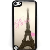 Love Eiffel Tower - Case for iPod Touch 5th Generation - Black