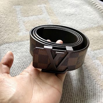 Authentic Louis Vuitton LV Damier Belt 40/100 Mint Condition