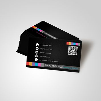 CUSTOMER COLLECTOR BUSINESS CARD