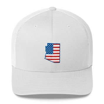 Arizona - American Flag Hat