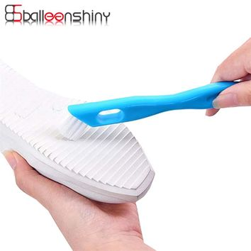 BalleenShiny Cleaning Brush double Head window blinds keyboard cleaner Groove Track Cleaning Brushes household Shoes clean tool