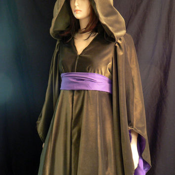 Star Wars Padme Green Cut Velvet Dress Episode III