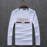 gucci  Fashion Casual Long Sleeve Sport Top Sweater Pullover Sweatshirt