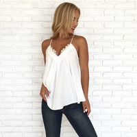 Charm Blouse In Ivory
