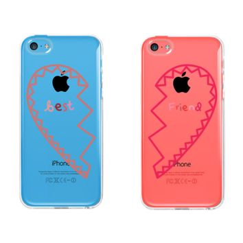 BFF Clear Phone Cases from Soramee | BFF Matching Phonecases