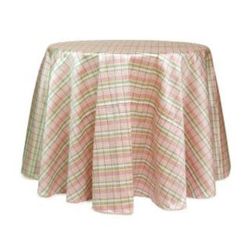 2 Easter Tablecloths - Multicolor Plaid Design