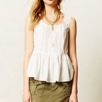 Ruffled Poplin Tank by Vanessa Virginia