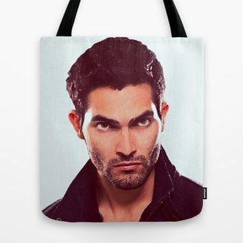 Derek Hale - Tyler Hoechlin Tote Bag by Hands in the Sky