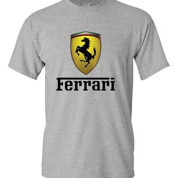 Ferrari Sports Grey T-Shirt