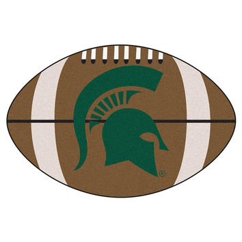 Michigan State Spartans NCAA Football Floor Mat (22x35)