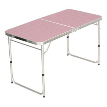 Pink Paper Pong Table