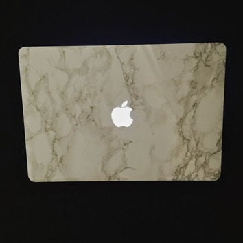 "Marble MacBook Decal - Vinyl Laptop Cover for 15"" MacBook Pro Retina Laptops"