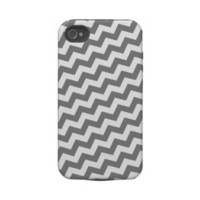 Funky Chevron Zig Zag Pattern Iphone 4 Tough Covers from Zazzle.com