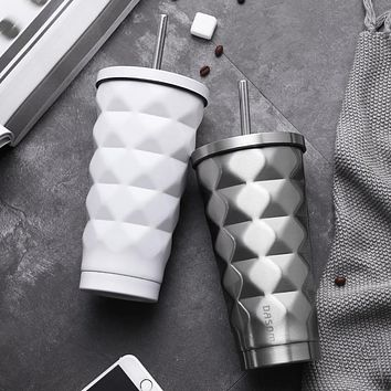 Stainless Steel Cup Vacuum Flasks Mug with Lid Water Bottle