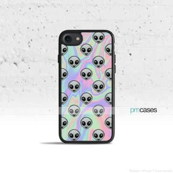 Tie Dye Alien Emoji Phone Case Cover for Apple iPhone iPod Samsung Galaxy S & Note