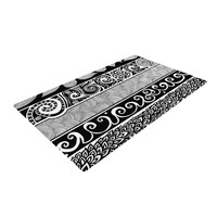 "Pom Graphic Design ""Tribal Evolution"" Woven Area Rug"
