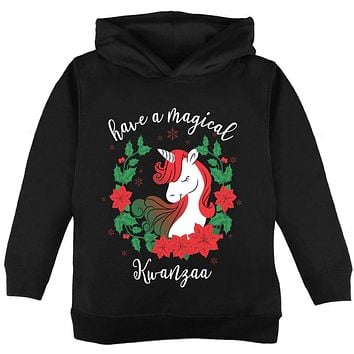 Have a Magical Kwanzaa Unicorn Toddler Hoodie