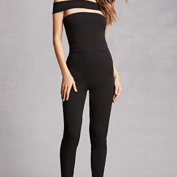 Cuotut Off-the-Shoulder Jumpsuit