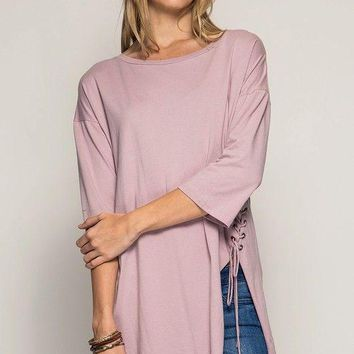 Theo Side Lace Up Tunic