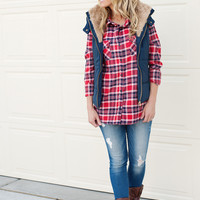 Kayla Flannel Shirt