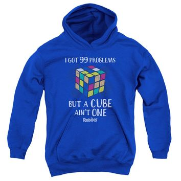 Rubik's Cube - 99 Problems Youth Pull Over Hoodie