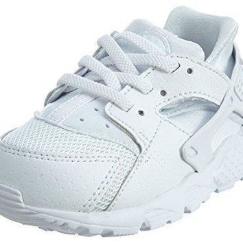 704950-110 KIDS INFANT HUARACHE RUN (TD) NIKE WHITE PURE PLATINUM  1f9af443e
