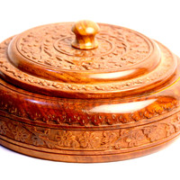 Aakashi Carved Spice Box