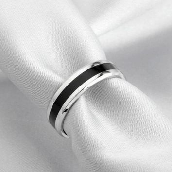 New Arrival Titanium Steel Couple Ring Fashion Design Ring for Men and Women Popular Jewelry