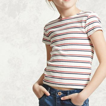 Girls Striped Top (Kids)