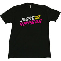 JESSE and the RIPPERS mens T-SHIRT funny full house band music 90s tv show costume s m l xl 2xl 3xl 4xl 5xl 310