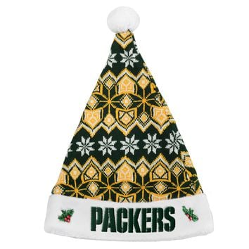 Green Bay Packers Knit Santa Hat - 2015