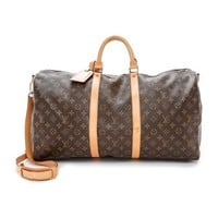 What Goes Around Comes Around Louis Vuitton Monogram Keepall 55